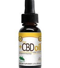 Peppermint CBD Oil Drops