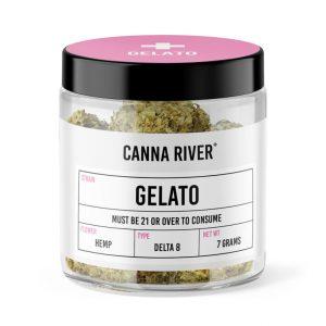 Canna River Delta 8 Flower – Gelato 7g
